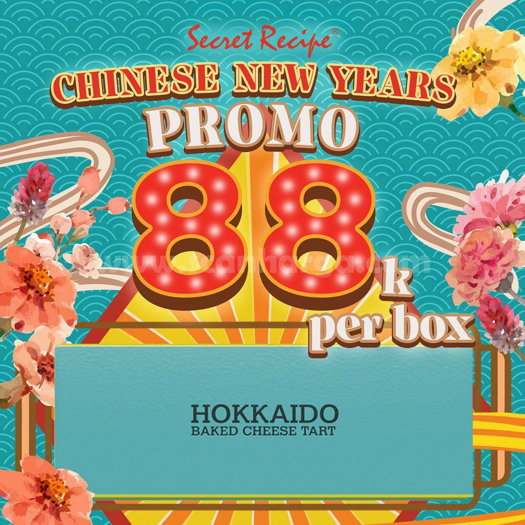 Hokkaido Baked Cheese Tart Promo 88K Per BOX