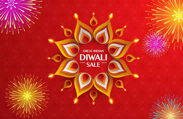 Great indian Diwali festival big sale Background