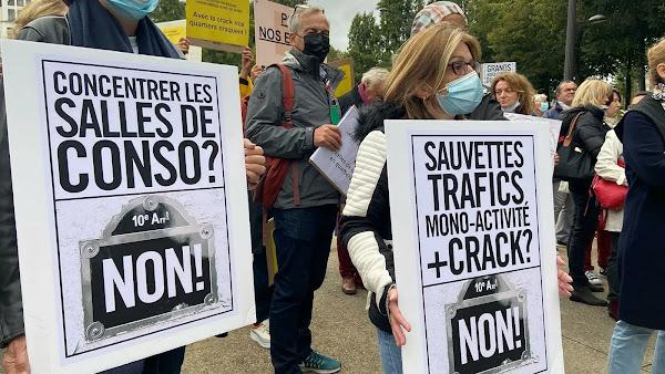"""[VIDEOS] Le nord-est, """"une décharge des beaux quartiers""""? Une manifestation contre le crack"""