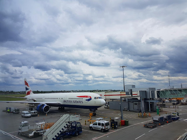 boarding the flight heathrow airport