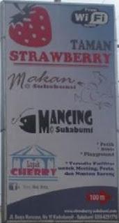 Paket Wisata Taman Strawberry Sukabumi