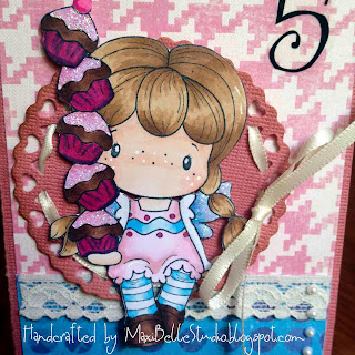 CC Designs Brigitta with Cupcake