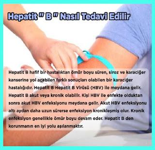 Hepatit '' B '' Nasıl Tedavi Edilir