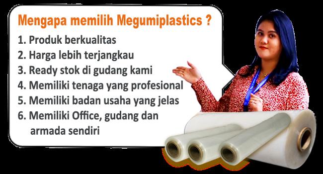 Mengapa pilih Supplier Plastik Wrapping megumiplastics