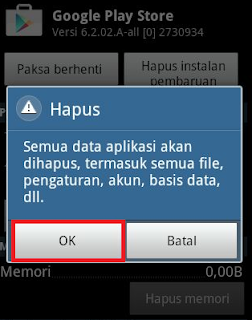 error google play store