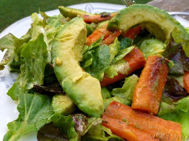 Jamie Oliver Roasted Carrot Salad