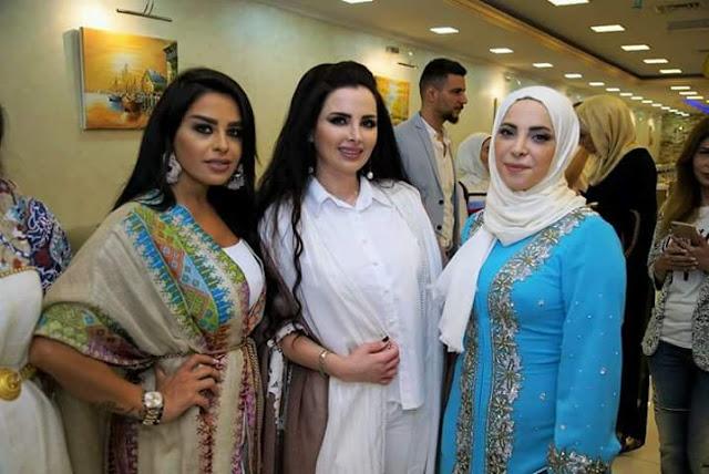 استشارة التجميل ميرنا كساب ومصممة الأزياء غاليا الفهد وعزيمة افطار رمضاني لأهل الفن