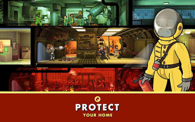 لعبة Fallout Shelter مهكرة للاندرويد