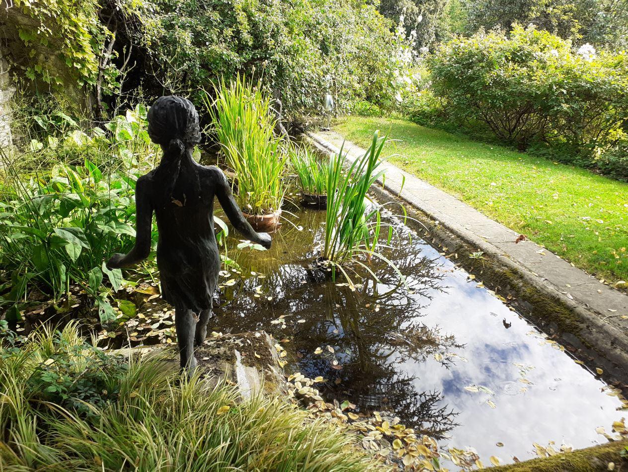 bassin jardin bonne maison mulatière