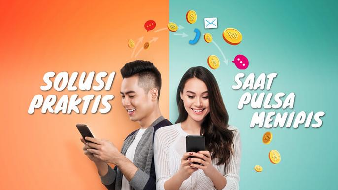 Cara Transfer Pulsa All Operator (Telkomsel, Indosat, XL) - Deteknoway