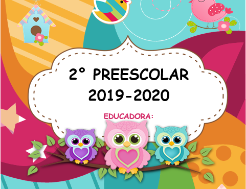 Agenda Escolar Editable Buhos