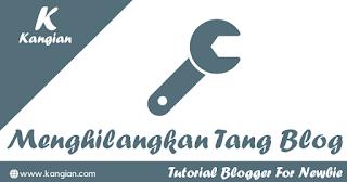 Menghilangkan Tanda Obeng/Tang Pada Blog