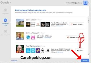Cara Mengikuti Hal yang Anda Suka di Google+
