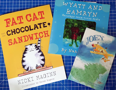 Matador Press books to read together Fat Cat, Joey and Wyatt and Kamryn