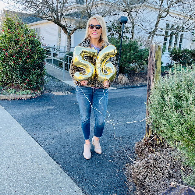 56 years young, bday , fashion blog