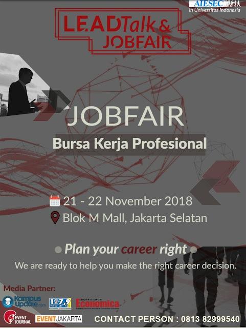 Job Fair di Jakarta Selatan (Gratis)