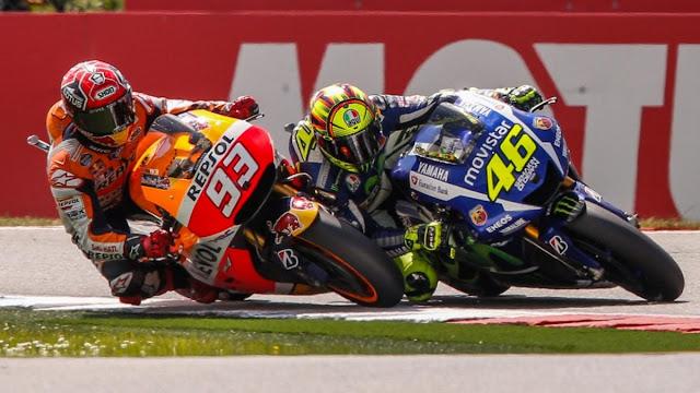 Marquez : Berikutnya Tidak Akan Kubiarkan Rossi Merebut Poin