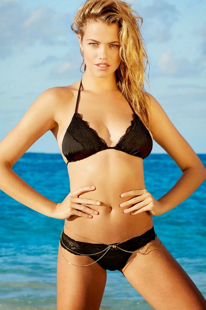 Beach Bunny Swim Spring/Summer 2015 Lookbook featuring Hailey Clauson