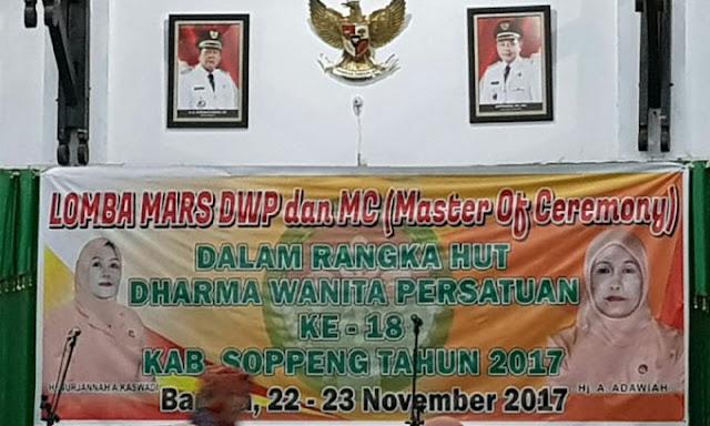 FOTO: Persiapan Lomba Master Of Ceremony HUT ke-18 DPW Soppeng