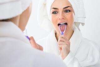 Good mouth hygiene is key to fresh breath