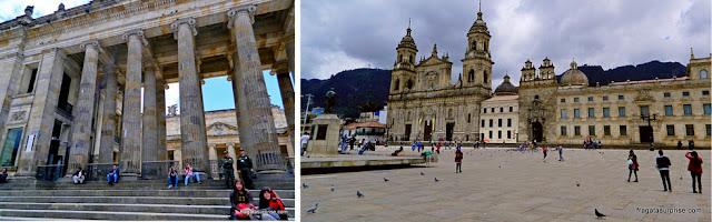 Plaza Bolívar, Bogotá