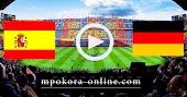 نتيجة مباراة ألمانيا واسبانيا بث مباشر كورة اون لاين 03-09-2020 دوري الأمم الأوروبية