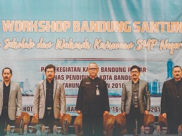 Disdik Kota Bandung Gelar Kegiatan Workshop Bandung Santun