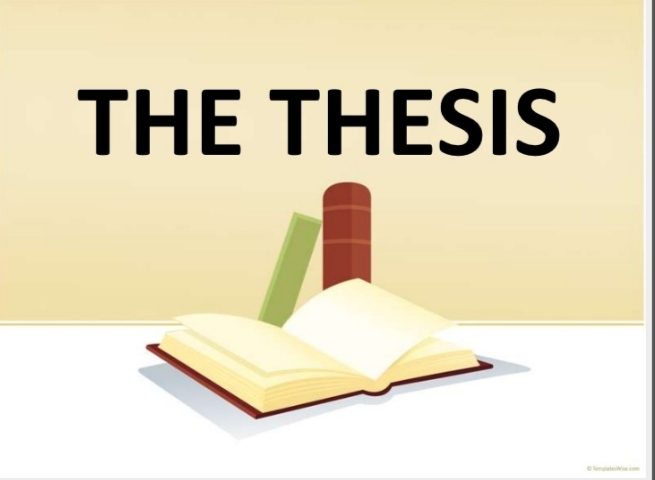 Thesis sample  And Detail Guide To Write Thesis