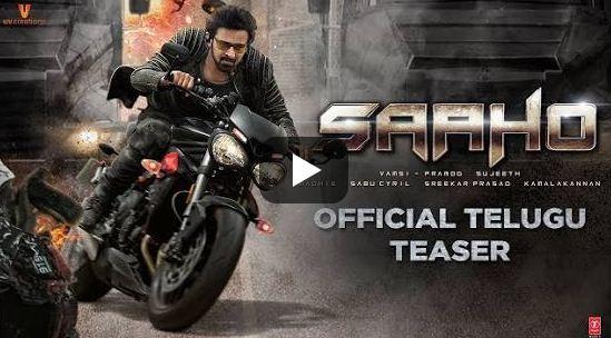 Saaho Movie Teaser