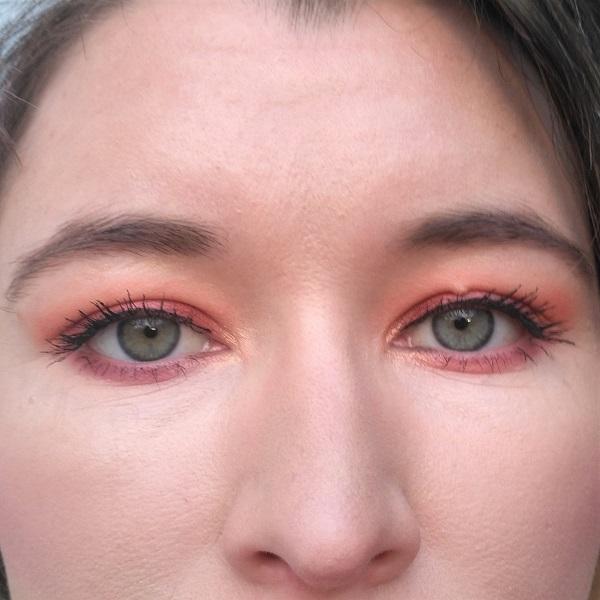Sunrise Augen Make-up