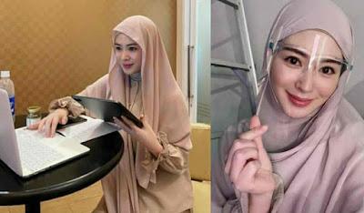 Selebgram Cantik Korea Selatan Tampil Berhijab Setelah Memilih Islam, Ini Profilnya...