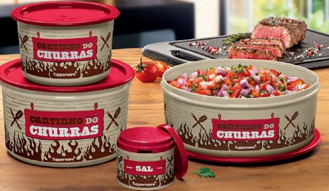 COMER & BEBER: Tupperware lança linha de utensílios para churrasco