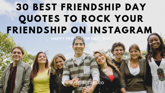 Rock your friendship on instagram with 30 unique and strong friendship quotes.