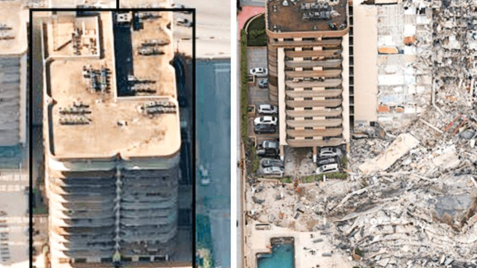 Miami building collapse: 159 missing, officials say