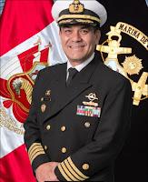Capitán de Navío Percy Isaac Suárez Cáceres