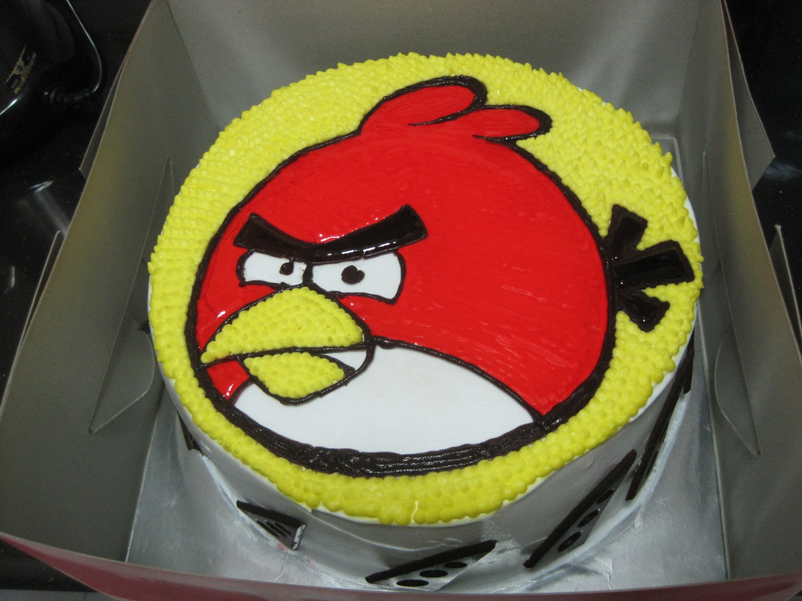 Nothing But The Truth Angry Bird Birthday Cake