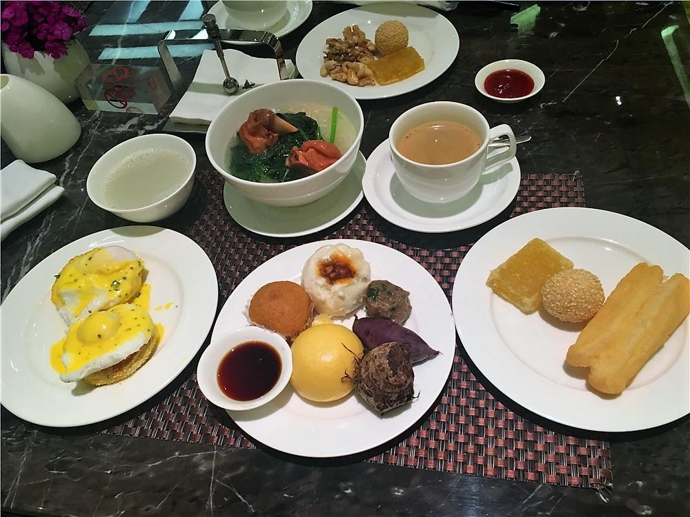 深圳前海華僑城JW萬豪酒店(JW Marriott Hotel Shenzhen Bao'an)-小編的早餐