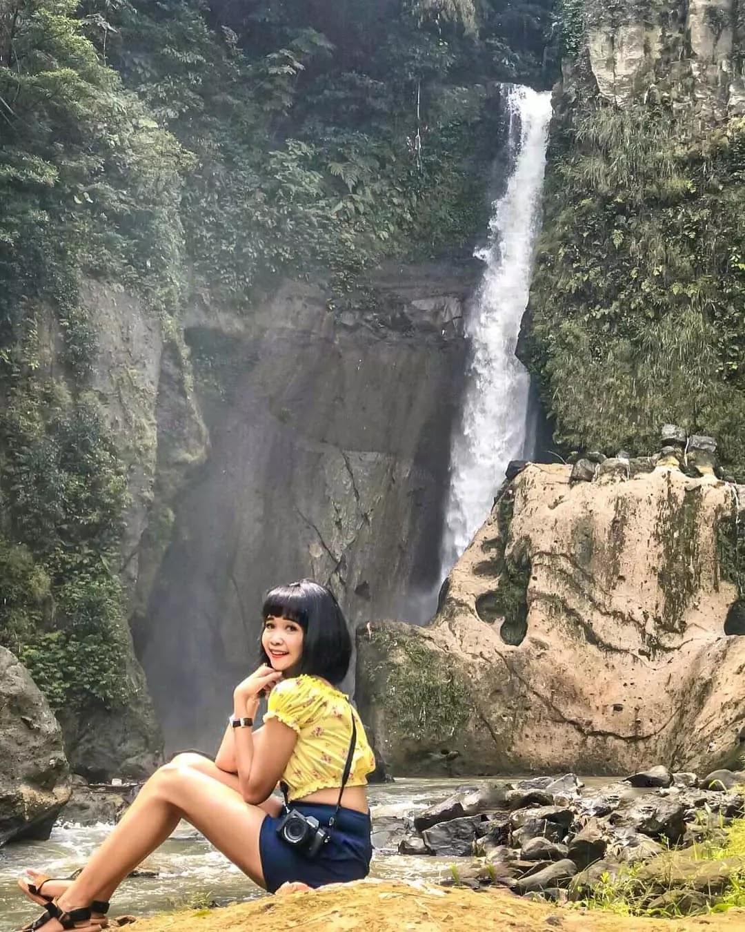 Air Terjun Lembah Pelangi di Ulubelu, Tanggamus, Lampung
