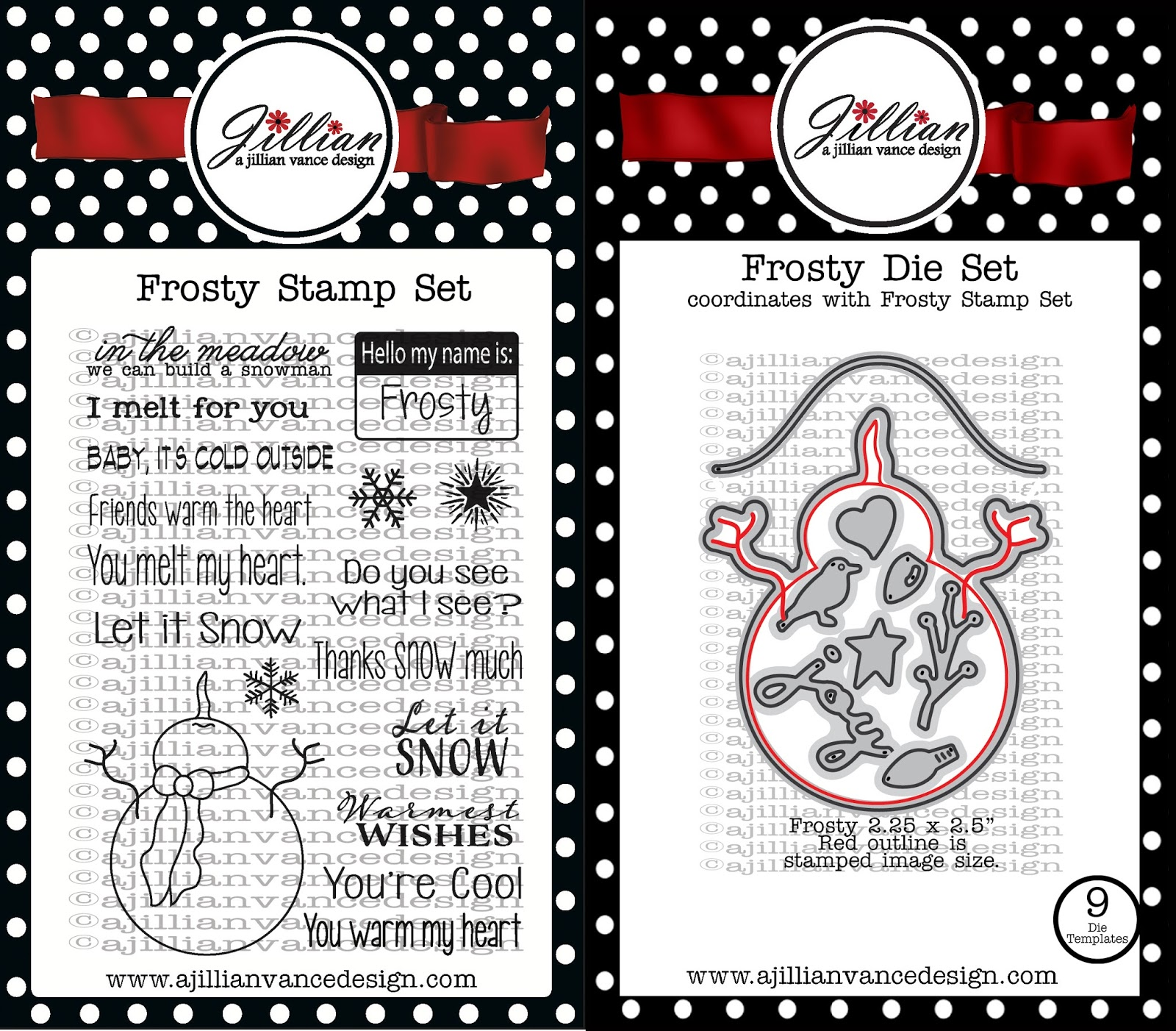 Frosty Stamp & Die Set