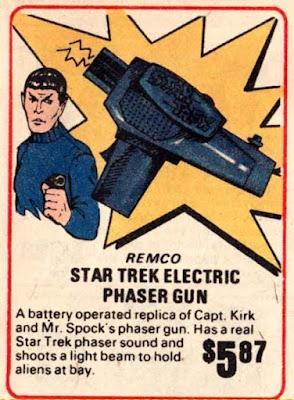 Star Trek Electric Phaser Gun