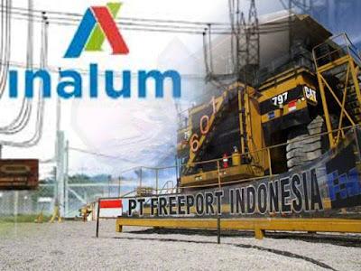 Inalum akan Lunasi Pembayaran Saham Divestasi PTFI