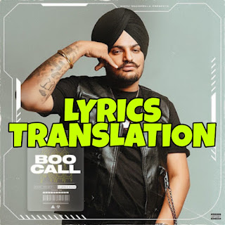 Boo Call Lyrics in English | With Translation | – Sidhu Moose Wala