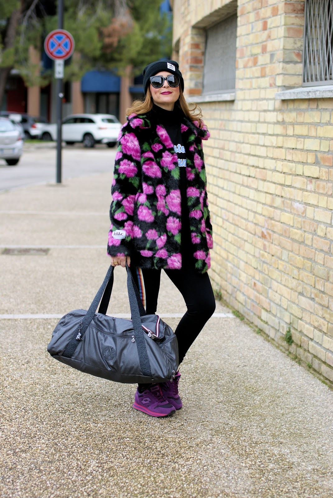 Working on a New Me: Kipling Athleisure Exclusive Collection on Fashion and Cookies fashion blog