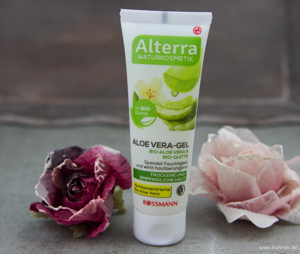 Alterra  Aloe Vera-Gel Bio-Aloe Vera & Bio-Quitte