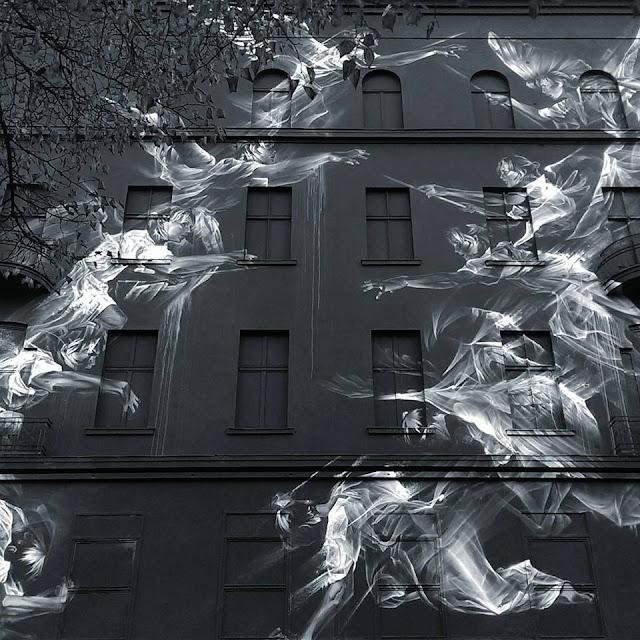 Mural en un edificio