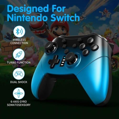 SHANGCAI Nintendo Switch Wireless Pro Controller