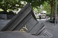 Architectural Fragment by Petrus Spronk in Melbourne's CBD | Melbourne Public Art