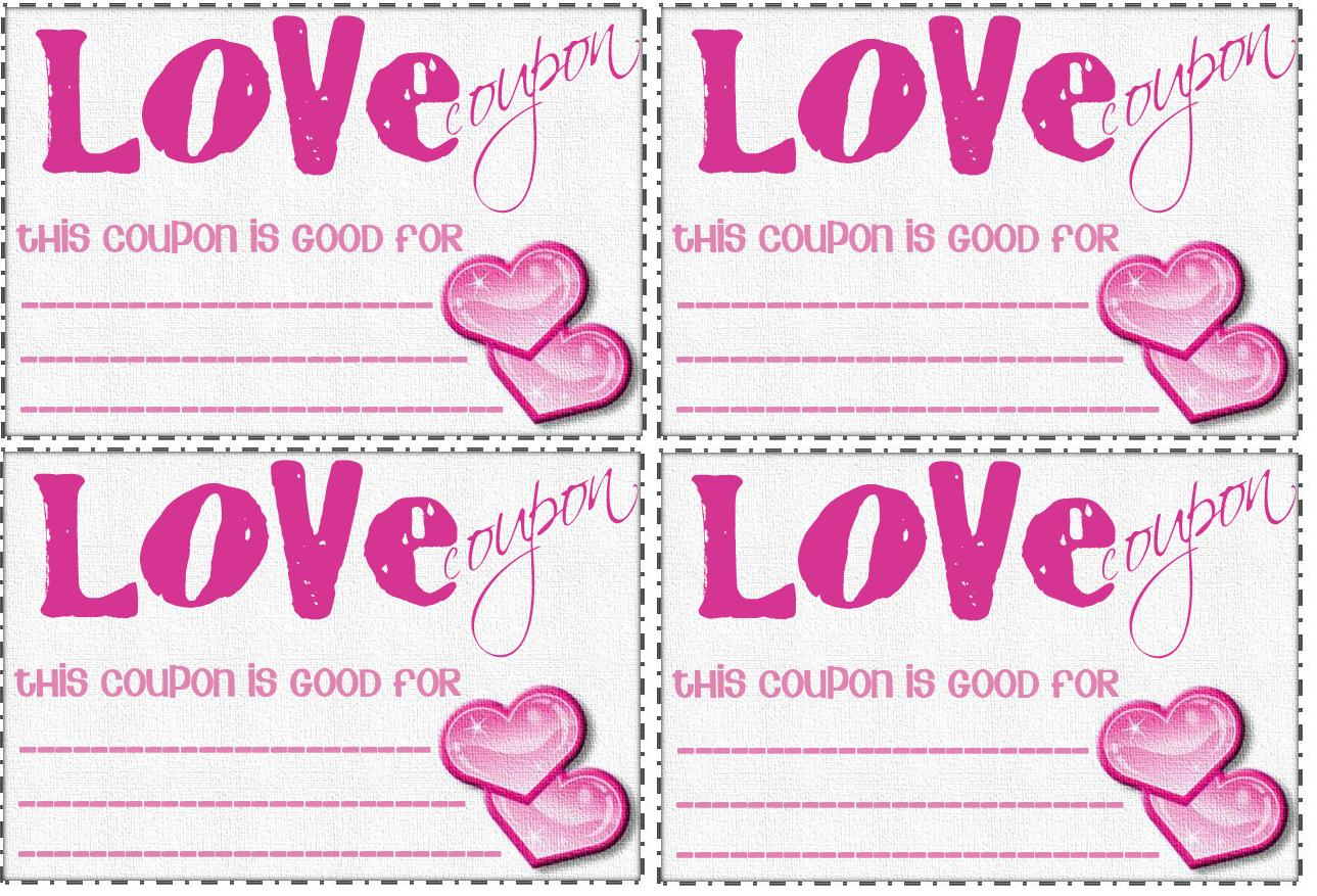 Love coupon book template new calendar template site for Love coupons for him template
