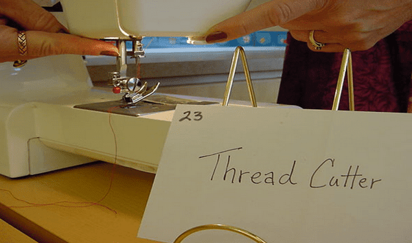 Thread Cutter sewing machine
