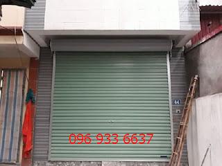 Các bước lắp cửa cuốn tấm liền tại Huyện Thanh Trì